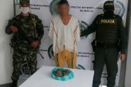 Capturado con Marihuana en Alvarado