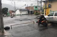 Bloqueo en las calles de Ibagué