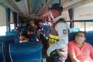 Medidas y protocolos que deben cumplir usuarios y empresas prestadoras de transporte público terrestre en el territorio nacional