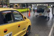 Fueron desinfectados 265 taxis, 138 motos domiciliarias y 3 vehículos