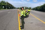 Policía en el Tolima