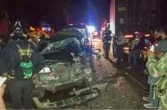 Accidente al norte del Tolima