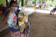 Kits nutricionales para 1.048 familias vulnerables de este municipio