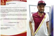 Alvaro Montero se queda en el Deportes Tolima