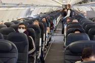 4.723 colombianos que se encontraban en el exterior, en medio de la pandemia del Coronavirus, han regresado al país en 44 vuelos humanitario