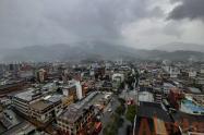 Llegaron las lluvias a Ibagué