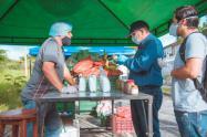Mercado campesino en Ibagué ha recaudado más de $10 millones