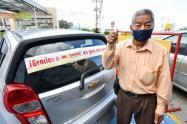 Un abuelo tolimense el feliz ganador de un automóvil entregado por Mercacentro