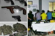 Armas, municiones e intendecia en Ibagué