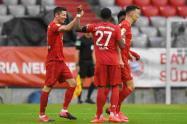 Bayern Múnich líder de la Bundesliga
