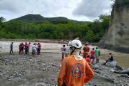 Emergencia en el sector de El Limón, en Espinal