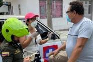 Autoridades tomaron la decisión de reforzar nuevamente las medidas de seguridad con la aplicación nuevamente del Pico y Cédula y Genero