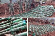 Explosivos en Planadas