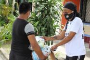 La entrega de los kits nutricionales se lleva a cabo en los municipios de El Guamo, Ortega, Chaparral, Ataco y Planadas