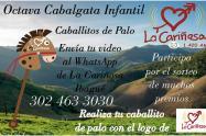 Octava Cabalgata Infantil de Caballitos de Palo con La Cariñosa Ibagué