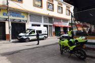 Operativos de la policía en el Tolima