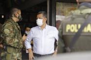 Orozco sentenció que con la fuerza pública se va dar con la captura de delincuentes que están extorsionando a los campesinos de la zona