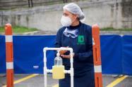 Los vehículos serán sometidos a procesos de desinfección