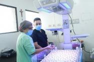 Apertura de la Unidad de Alta Dependencia Obstétrica del Hospital Federico Lleras Acosta