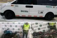 Vehiculos recuperados en el Tolima