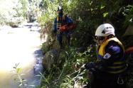 El cuerpo sin vida de José Jaime Castillo, fue encontrado por los organismos de socorro este lunes festivo