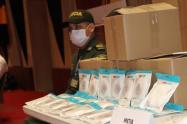 La entrega adelantada asciende a más de 234 millones, elementos de bioseguridad para los hombres de la fuerza pública