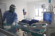 El Hospital Federico Lleras Acosta sede la Francia cuenta con 43 camas de cuidados intensivos de las cuales 31 se encuentran ocupadas