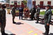 La Alcaldía puso en conocimiento de la Policía y el Ejército, fuerza pública que de manera inmediata inició las investigaciones