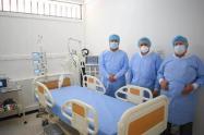 Se inauguró ayer 20 de Julio la Unidad de Cuidados Intensivos intermedios del nuevo hospital La Candelaria