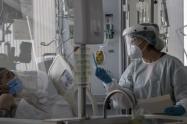 El Hospital Federico Lleras Acosta sede la Francia cuenta con 63 camas de cuidados intensivos de las cuales 46 se encuentran ocupadas