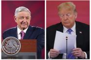 Trump y López Obrador