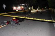 Accidente Fatal en Chaparral