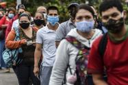 En Colombia hay a la fecha 114.826 casos activos de la infección causada por el SARS-CoV-2
