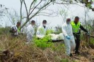 Macabro hallazgo en zona rural de Chaparral, un cuerpo sin vida irrumpió la tranquilidad de los habitantes