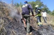 Incendios forestales que se han presentado en las últimas horas debido a las altas temperaturas