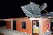 En el Líbano se presentó afectaciones en 17 viviendas en el corregimiento de San Fernando