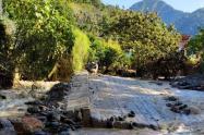 El mayor problema se presenta en el sector de la Reforma en la vía que de Rovira conduce al Centro Poblado de Playarrica