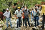 La zona más afectada por la ola invernal se encuentra en Playarrica y Guadalito