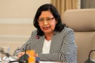 Gina Tambini, representante de la OPS en Colombia