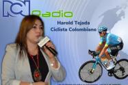 Harold Tejada, Cilcista Huilense Invitado en Diálogos con Claudia Aristizábal