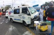 accidente ambulancia picaleña