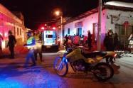 Un muerto y dos heridos en accidente de tránsito en Chaparral
