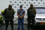 El automotor estaba reportado como hurtado en la ciudad de Cali – Valle del Cauca