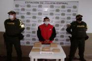 Las 20 mil dosis que movilizaba en El Espinal están avaluadas en 6 millones de pesos.