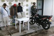 LLevaban 5 kilos de marihuana por la vía a Natagaima