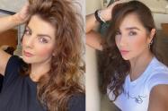 Carolina Cruz y Paola Jara