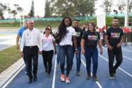Cepeda también aseguró que se dejó en ejecución el urbanismo del parque deportivo y de la unidad deportiva de la calle 42