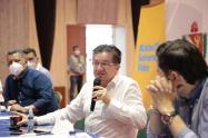 Ministro de Salud en el Tolima