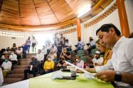 firma de convenio en Ibagué