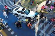 Simulacro de Accidente de Tránsito Ibagué